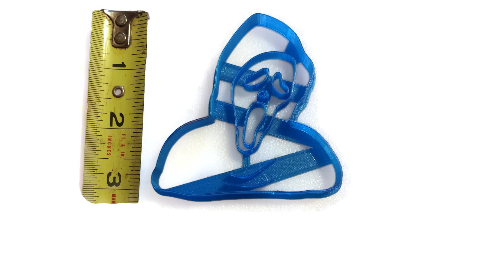 Scream Ghost Mask Cookie Cutter - Things4Thinkers