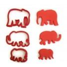 Elephant Cookie cutter set