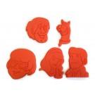 Scooby Doo gang cookie cutter set