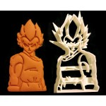 Dragon Ball Z Vegeta cookie cutter