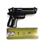 Beretta 9MM hand gun fondant cutter
