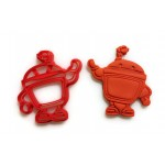 Team Umizoomi Bot Cookie cutter