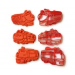 Wilson, Koko, and Brewster from Chuggington Cookie Cutters. 3 train pack. Great for themed birthdays, playing with Play-Doh, making cookies