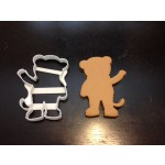 Daniel Tiger Silhouette Custom Cookie Cutter