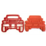 Jeep cookie cutter, Jeep cookie stamp, jeep fondant cutter, jeep grill