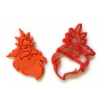 The Little Mermaid King Triton Cookie Cutter