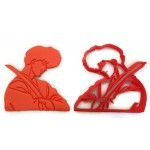 Ranma 1/2 Tatewaki Kuno of Furinkan High School cookie cutter