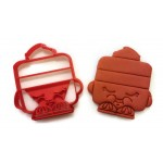 Shopkins Le'Quorice Cookie Cutter