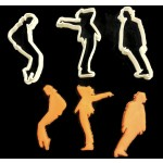 Michael Jackson Fondant cutter set