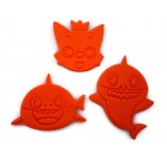 Baby Shark Cookie Cutter Fondant Cutter Set