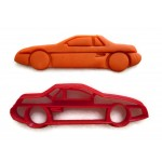 Pontiac Fiero Notchback cookie cutter