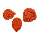 Robotech Rick Hunter Roy Fokker Scott Bernard helmet cookie cutter set