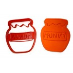 Winnie The Pooh Hunny Pot Cookie cutter