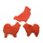Pomeranian Dog Cookie Cutter Fondant Cutter Set