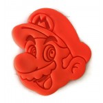 Super Mario Brothers Mario face cookie cutter fondant cutter