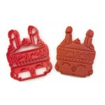 Shopkins Wishes cookie cutter