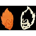Dragon  Ball Z Vegeta Face cookie cutter