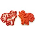 Pokemon Vulpix cookie cutter