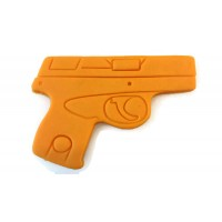"3D Printed Detailed 380 Handgun Cookie Cutter 4"" x 2 3/4"""