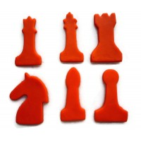 Chess Piece Cookie Cutter Set