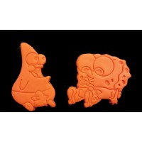 Spongebob SquarePants Baby Spongebob and Baby Patrick Cookie Cutter Set