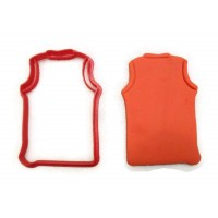 Basketball Jersey cookie cutter fondant cutter