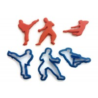 Bruce Lee Cookie Cutter Fondant Cutter Set