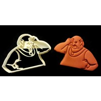Aqua Teen Hunger Force Carl Brutananadilewski Cookie Cutter