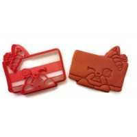 Shopkins Cheese Kate Cookie Cutter