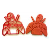 Deadpool Cookie cutter