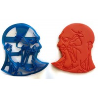 Zombie Detailed cookie cutter