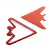 F117 Nighthawk Cookie cutter fondant cutter