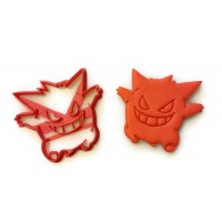 Pokemon Gengar Cookie Cutter