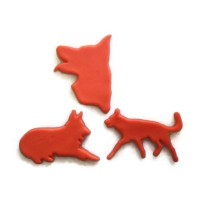 German Shepherd Cookie cutter fondant cutter set