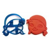 Jake and The Neverland Pirates Izzy Cookie Cutter