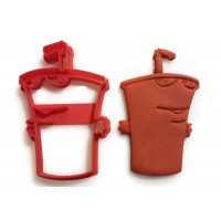 Aqua Teen Hunger Force Master Shake Cookie Cutter