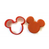 Mickey Mouse Head Outline Cookie Cutter