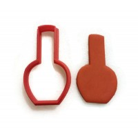 Nail Polish Cookie Cutter Fondant Cutter
