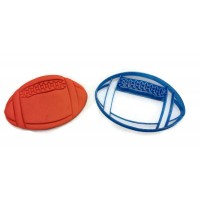 3D Printed Football Cookie Cutter