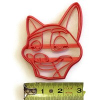 Zootopia Nick Wilde Cookie Cutter