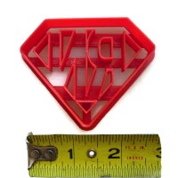 Super Hero Registered Nurse Super Nurse cookie cutter