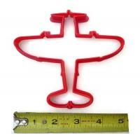 P47 Thunderbolt cookie cutter fondant cutter