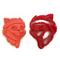 Paw Patrol Everest cookie cutter fondant cutter