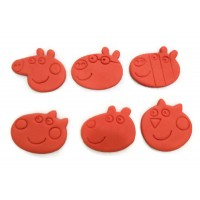 Peppa Pig and friends cookie cutter set