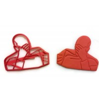 Star Trek The Next Generation Captain Picard Face Palm cookie cutter