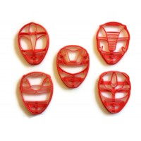 Power Rangers Cookie cutter set