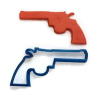 Walking Dead Colt Python 357 Ricks gun Cookie Cutter