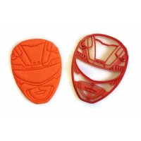 Power Rangers Red Power Ranger cookie cutter