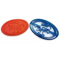 San Francisco 49ers detailed NFL cookie cutter