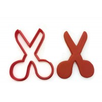 Scissors cookie cutter